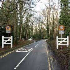 Photo of Village Gateways and Speed Limit Signs